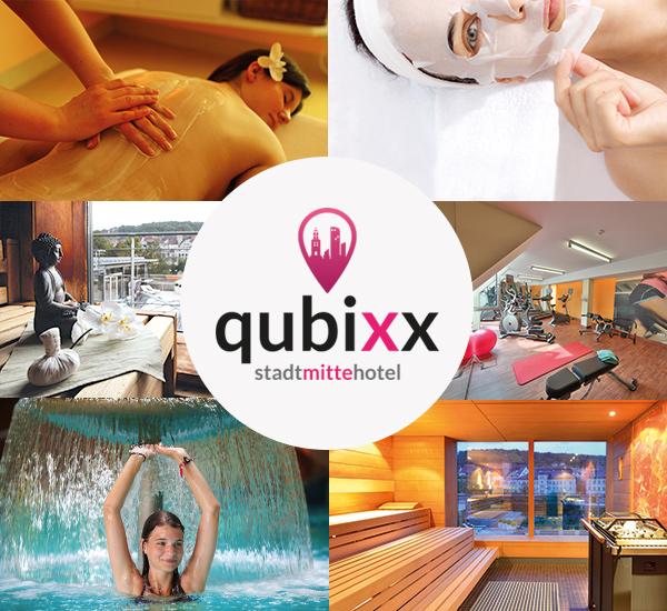 qubixx - StadtMitteHotel - Für Geschäftsreisende. Für Touristen. Für Alle. Mitten in Schwäbisch Hall. Zimmer ab 69 Euro. Wellness und Beauty.