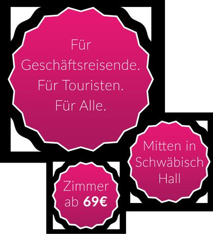 qubixx StadtMitteHotel in Schwäbisch Hall